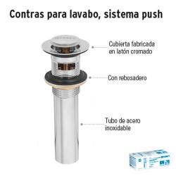 Contra para Lavabo Sistema Push FOSET