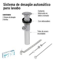 Sistema de Desagüe Automático para Lavabo FOSET