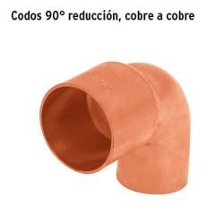 Codos 90° Reducción Cobre a Cobre FOSET