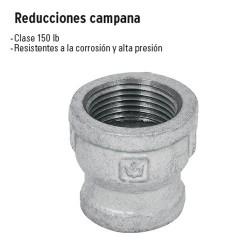 Reducciones Campana Galvanizadas FOSET