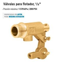 "Válvula para Flotador 1/2"" 172 g Cuerpo Robusto FOSET"