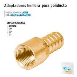 Adaptadores Hembra para Poliducto FOSET