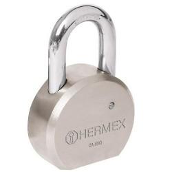 Candado de Acero Máxima Seguridad Llave de Puntos HERMEX