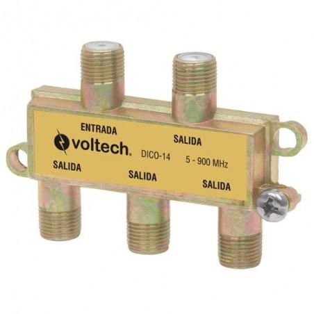 Divisor (Splitter) de 4 Salidas VOLTECK