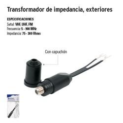 Transformador de Impedancia Exteriores VOLTECK