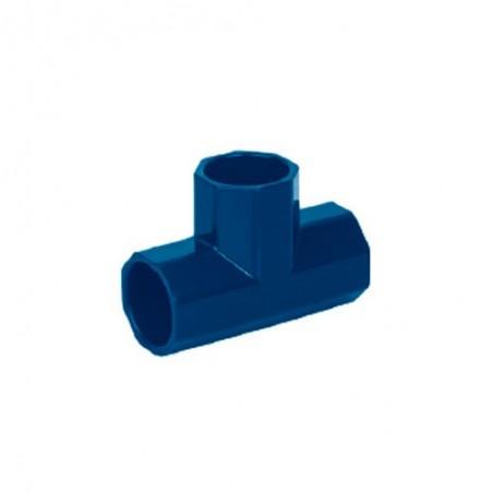 Tee Sencilla de CPVC Azul FOSET