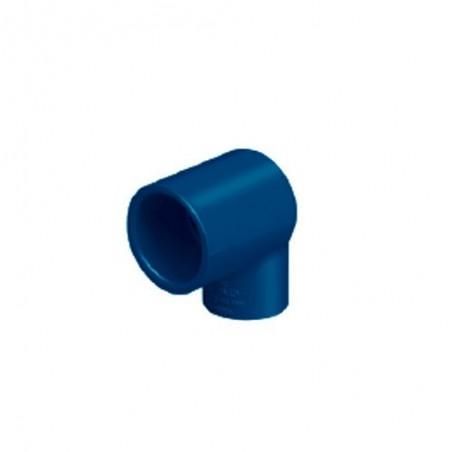 Codo Reducción 90° de CPVC Azul FOSET