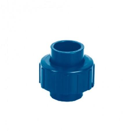 Tuercas Unión Lisa de CPVC Azul FOSET