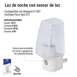 Luz de Noche con Sensor de Luz VOLTECK