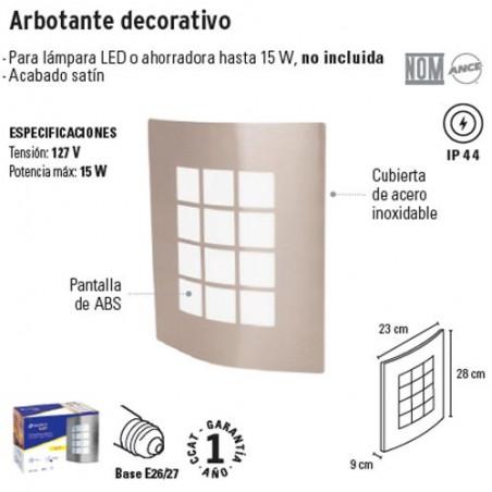 Arbotante Decorativo VOLTECK