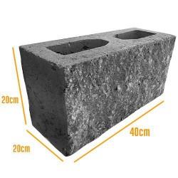 Block Hueco Cara de Piedra