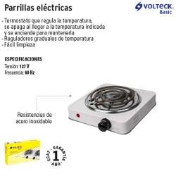 Parrilla Eléctrica VOLTECK BASIC