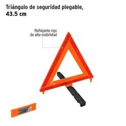 Triangulo de Seguridad Plegable 43.5 cm TRUPER