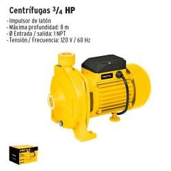 Bomba Centrifuga 3/4 HP PRETUL