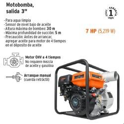 Motobomba a Gasolina TRUPER
