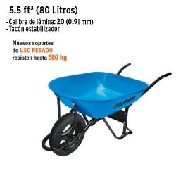 Carretilla 5.5 ft³ (80 Litros)