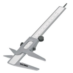 Calibrador Vernier Escolar, std y mm, 5'' PRETUL