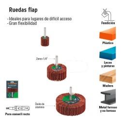 Ruedas Flap TRUPER
