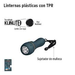 Linterna Plastica de Pilas con LEDS TRUPER
