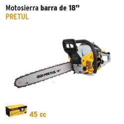 Motosierra Barra de 18'' PRETUL