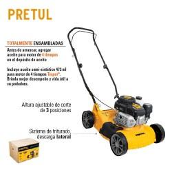 Podadoras con Motor a Gasolina 3 HP PRETUL