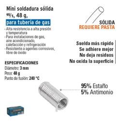 Mini Soldaduda Solida 95/5 45 g TRUPER