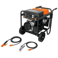 Corriente Directa 145 A con Motor a Gasolia 14 HP TRUPER