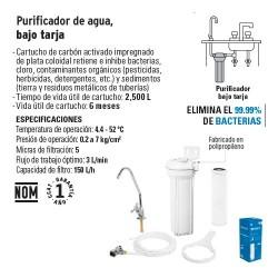 Purificador de Agua Bajo Tarja FOSET