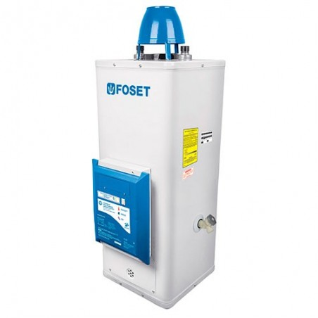 Calentador de Agua de Paso 9L/min Encendido Electronico FOSET