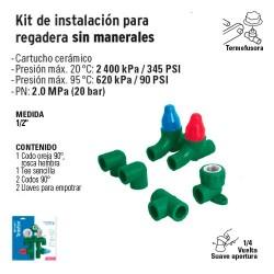 Kit de Instalacion para Regadera FOSET