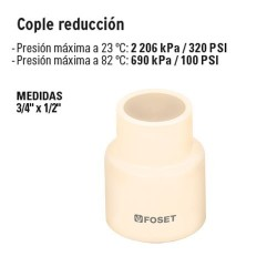 Cople Reduccion FOSET