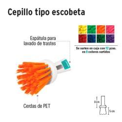 Cepillo Tipo Escobeta KLINTEK