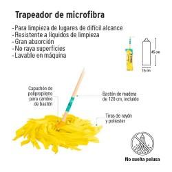 Trapeador de Microfibra KLINTEK