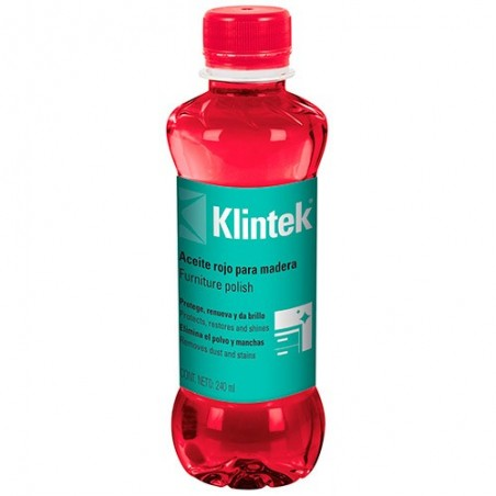 Aceite Rojo para Madera KLINTEK