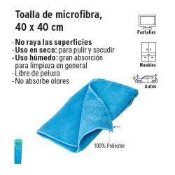 Toalla de Microfibra, 40 x 40 cm KLINTEK