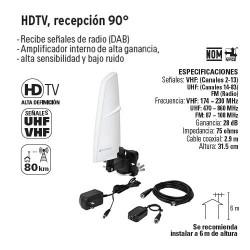 HDTC Recepción 90° VOLTECK