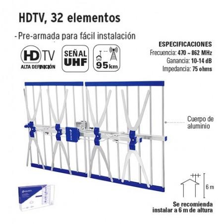 HDTV 32 Elementos VOLTECK