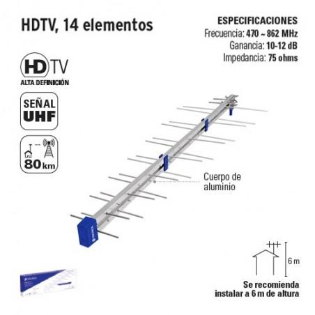 HDTV 15 Elementos VOLTECK