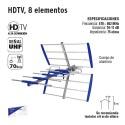 HDTV 8 Elementos VOLTECK