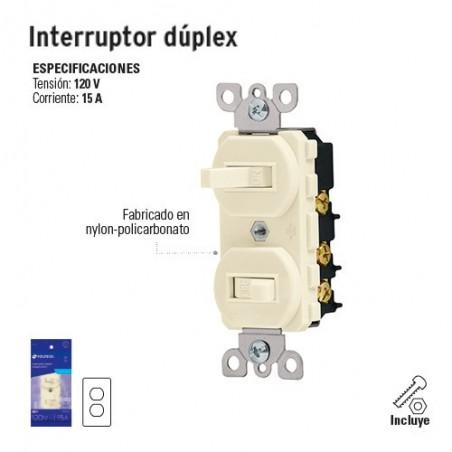 Interruptor Dúplex VOLTECK