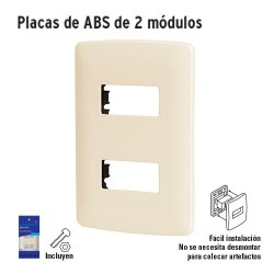Placas de ABS de Dos Módulos VOLTECK