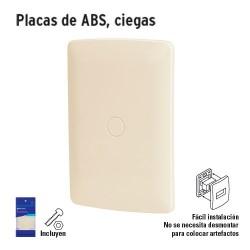 Placas de ABS Ciegas VOLTECK