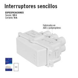 Interruptores Sencillos VOLTECK