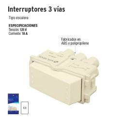 Interruptores 3 Vías VOLTECK