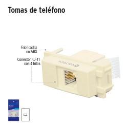 Tomas de Teléfono VOLTECK