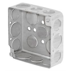 Caja y Tapa 4 x 4 Cuadrada Redorzada VOLTECK