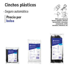 Cincho Plastico Tension 40 lb VOLTECK