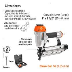 Clavadora Neumatica TRUPER