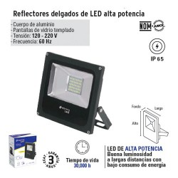 Reflector Ultra Delgado de LED VOLTECK