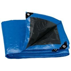 Lona Reforzada 180 g/m² Espesor de 0.25 mm Azul TRUPER